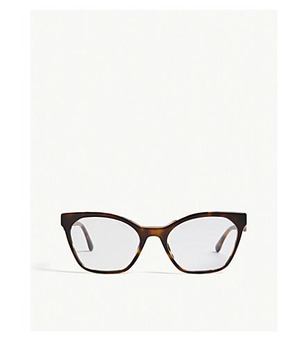 839ac76df6f ... PRADA PR09U cat-eye-frame Havana glasses (Havana. PreviousNext