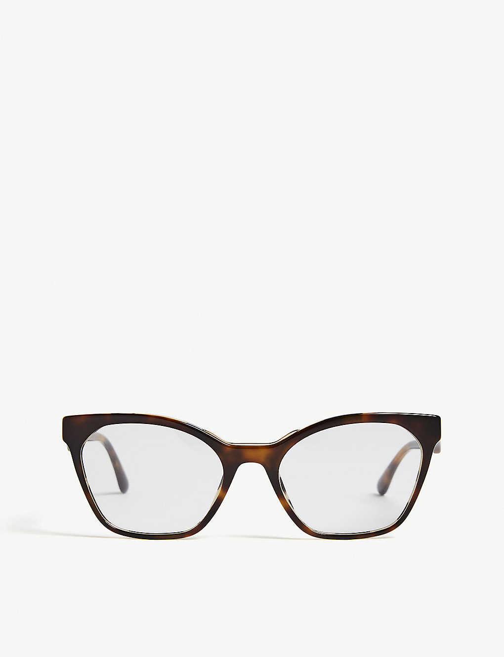 3b2c8af505141 PR09U cat-eye-frame Havana glasses - Havana ...
