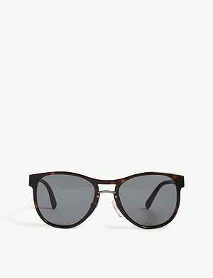 PRADA Pr09us aviator-frame sunglasses