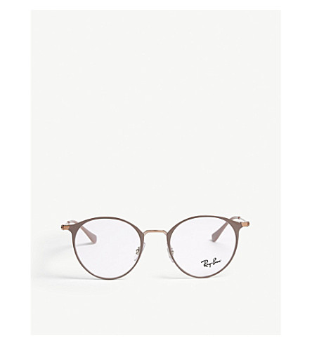 e144c1d00c ... RAY-BAN Phantos-frame optical glasses (Brown. PreviousNext