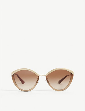 PRADA PR07US oval-frame sunglasses