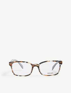 PRADA PR18T rectangle-frame glasses