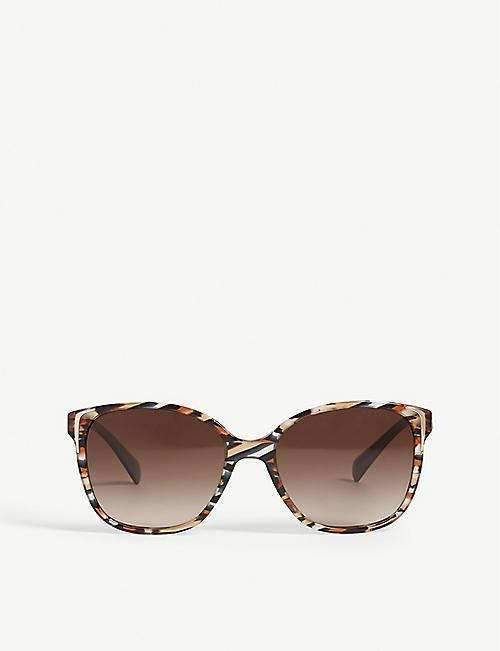 a9ae0686d9b0 ... australia prada pr010s square frame sunglasses f8eb0 7c4d6