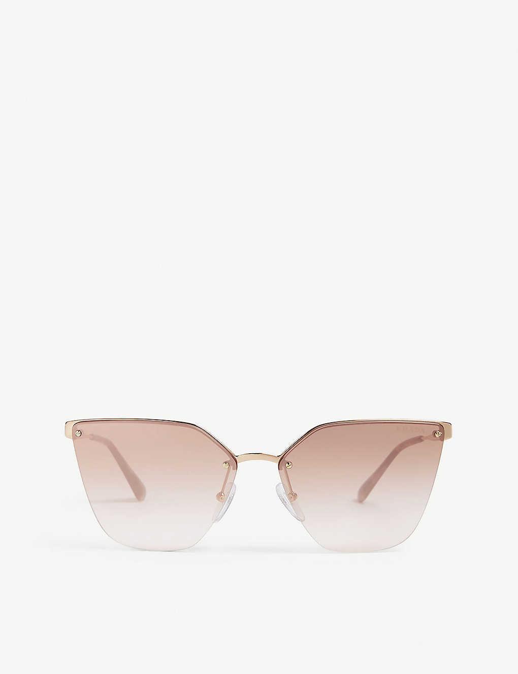 7bc56b2c98f1 PRADA - PR68T cat-eye sunglasses | Selfridges.com