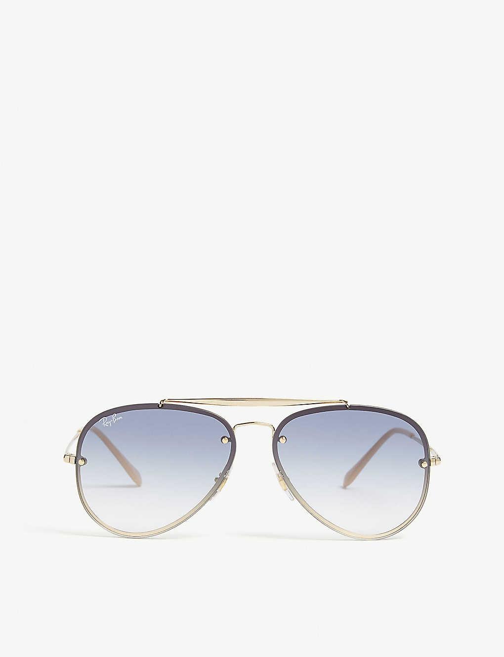 a4f9fdfb987 RAY-BAN - Rb3584 Blaze aviator sunglasses