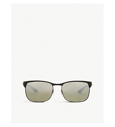 dc799b7476 RAY-BAN Rb8319 rectangle-frame sunglasses (Black
