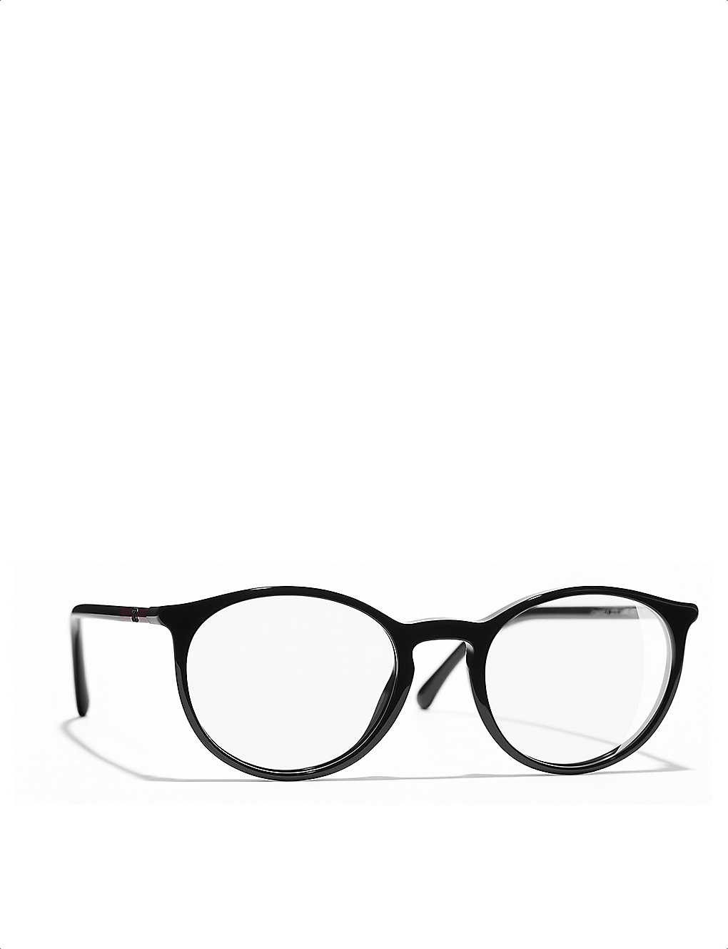 d125924c46a6 CHANEL - Round glasses