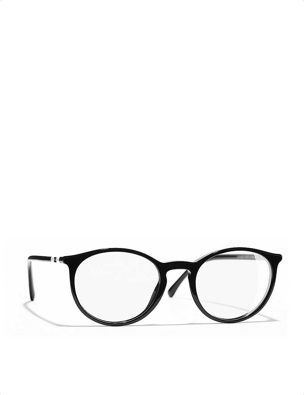 023d5b85db416 CHANEL - Pantos 3372 round-frame glasses