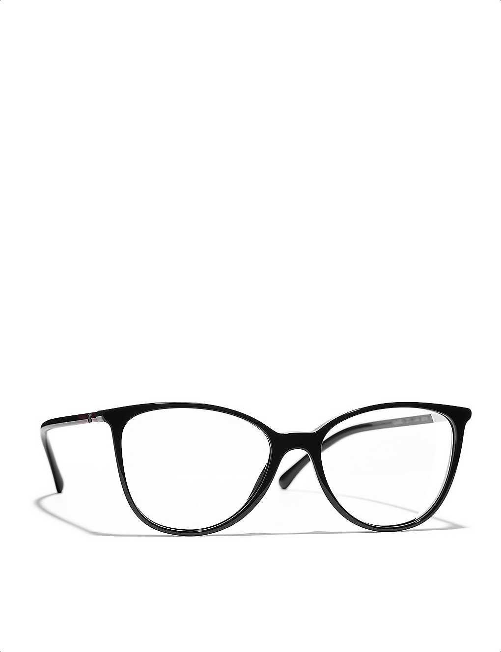 01ed5a6459518 CHANEL - Cat-eye glasses