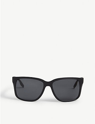 PRADA LINEA ROSSA: Rectangle nylon sunglasses