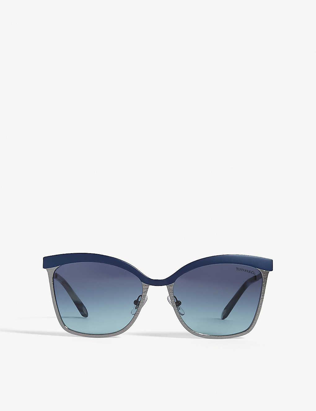 fc6365c75f8b TIFFANY & CO - Tf3060 square-frame sunglasses | Selfridges.com
