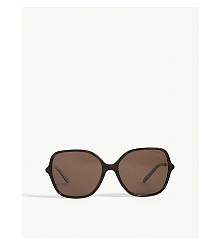8d47fc4ab2c0 TIFFANY   CO Tf4145b Havana square-frame sunglasses (Havana