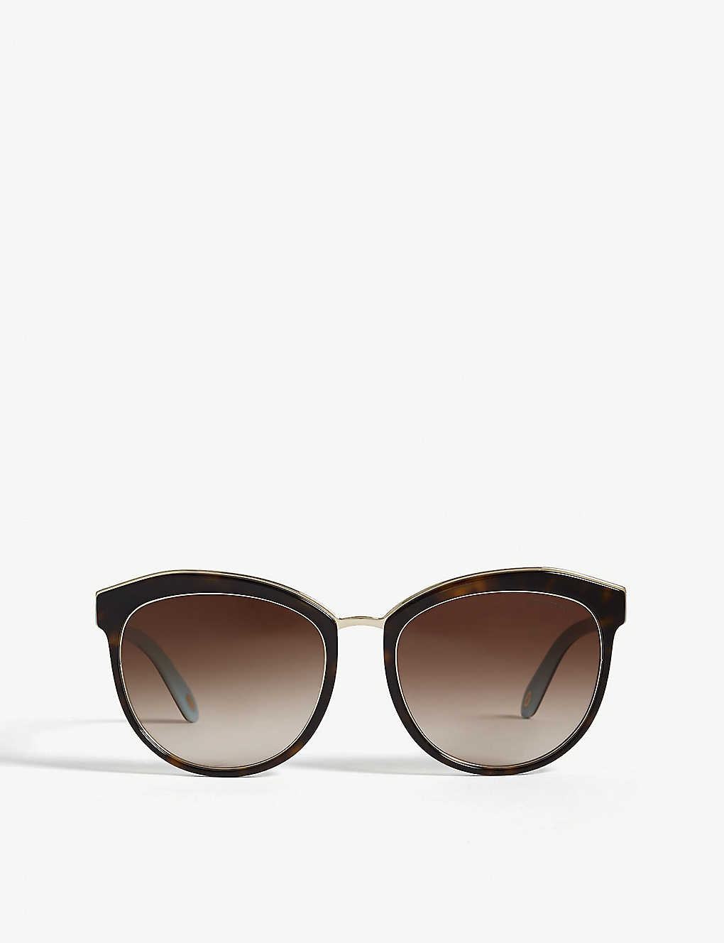 52110d7bc878 TIFFANY & CO - Tf4146 Phantos Havana sunglasses | Selfridges.com