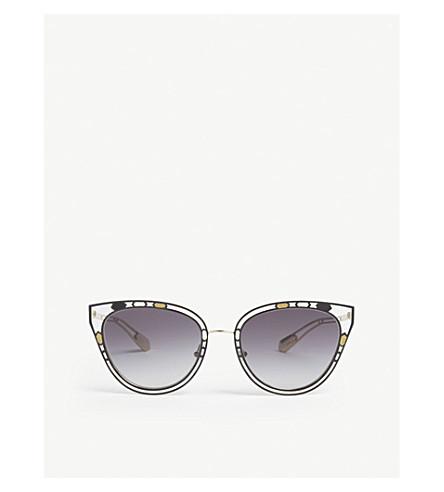 0140c4d8333 BVLGARI Bv6104 cat-eye frame sunglasses (Black