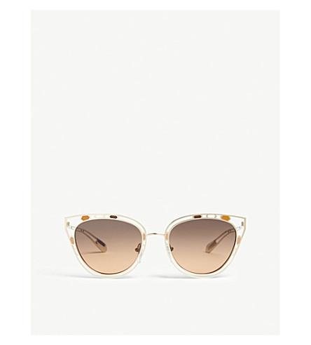 9e780979928 ... BVLGARI Bv6104 cat eye sunglasses (Gold. PreviousNext
