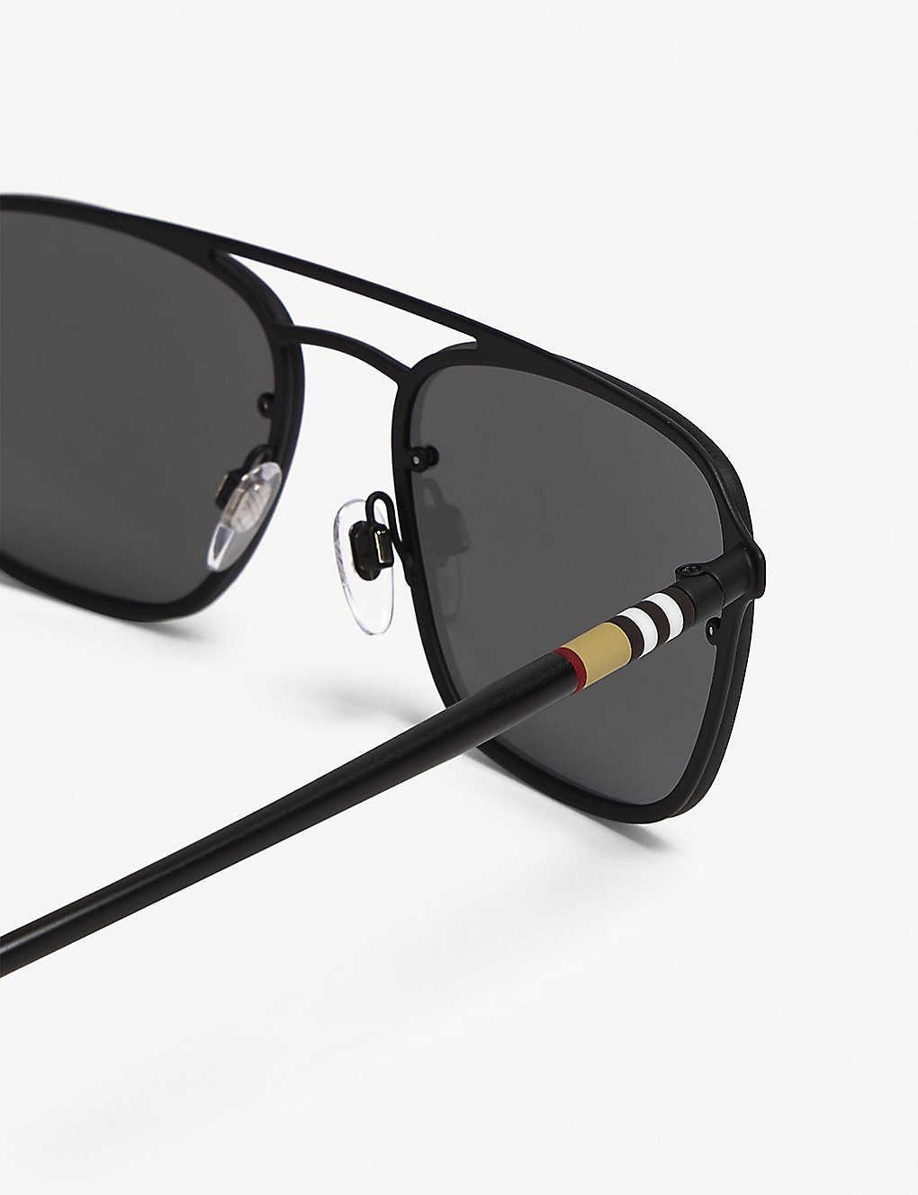 47a6b4c10449 BURBERRY - BE3095 square-frame sunglasses | Selfridges.com