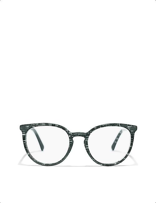 96981ecb0e77 CHANEL Pantos CH3376H round-frame glasses