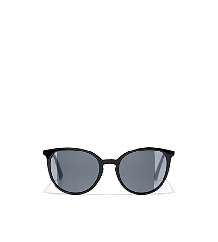 c5c5ecf05a3 CHANEL Butterfly sunglasses (Black