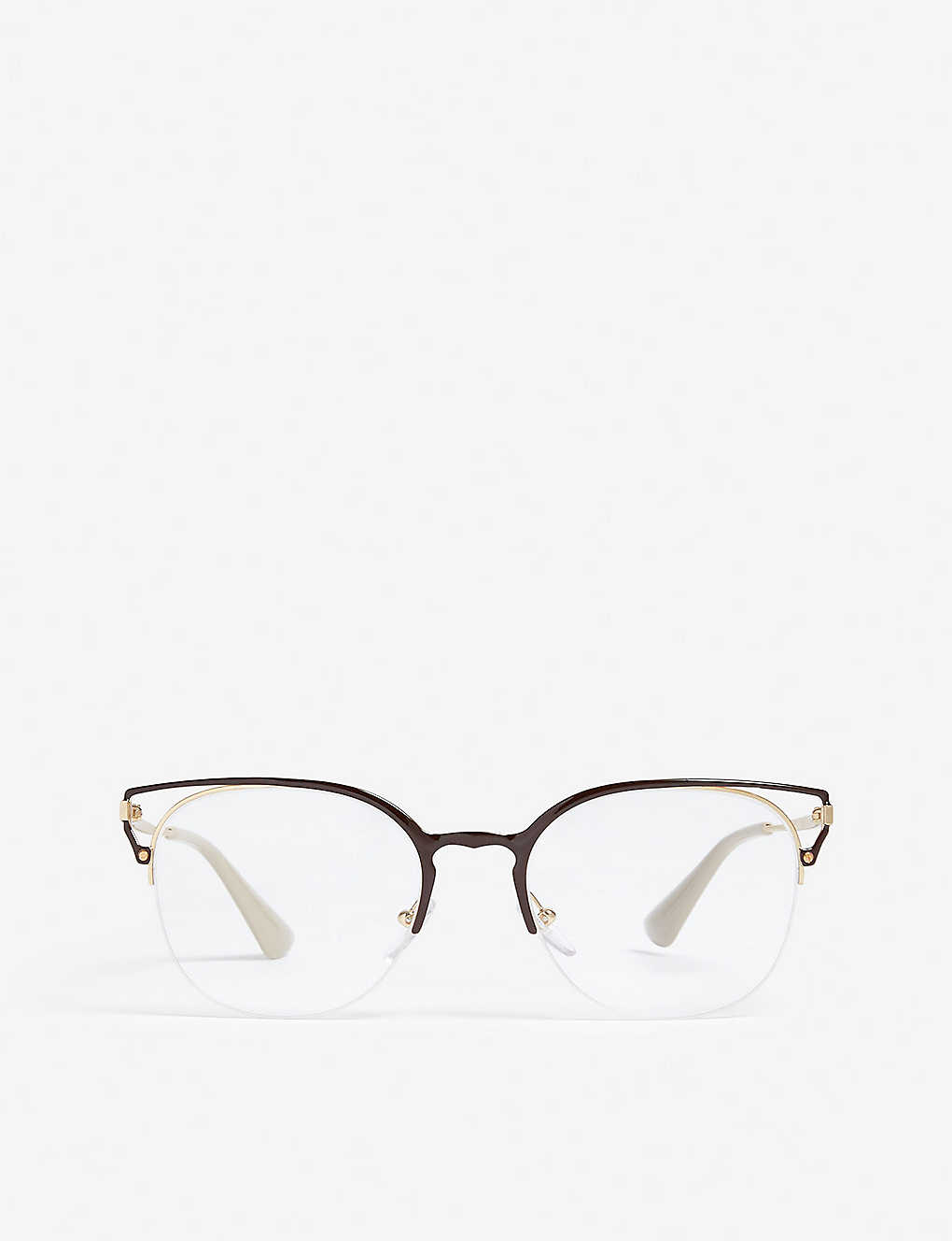 PRADA: Phantos-frame optical glasses