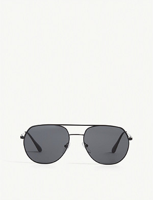 PRADA PR55US irregular-frame sunglasses