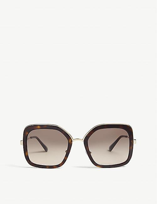 e28f71505d0 PRADA - Oversized - Sunglasses - Accessories - Womens - Selfridges ...