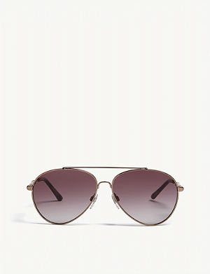 9af97e02729 BURBERRY BE3092Q pilot-frame sunglasses