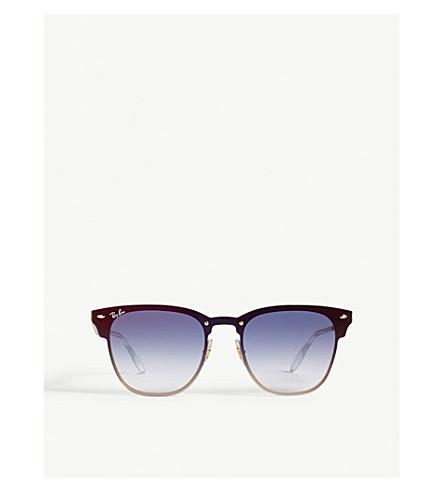 0ac3dda242b ... RAY-BAN Blaze Clubmaster square-frame sunglasses (Gold. PreviousNext