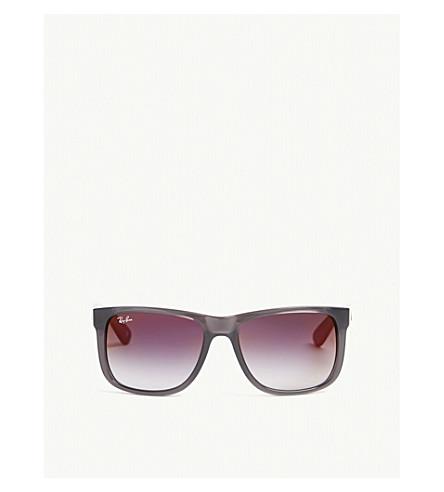 1a49deb3bf RAY-BAN - Justin rectangle-frame sunglasses