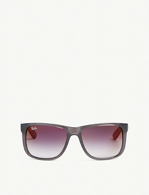 RAY-BAN Justin rectangle-frame sunglasses