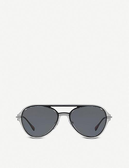 b69931a5f6b PRADA OPS 04TS Linea Rossa pilot sunglasses