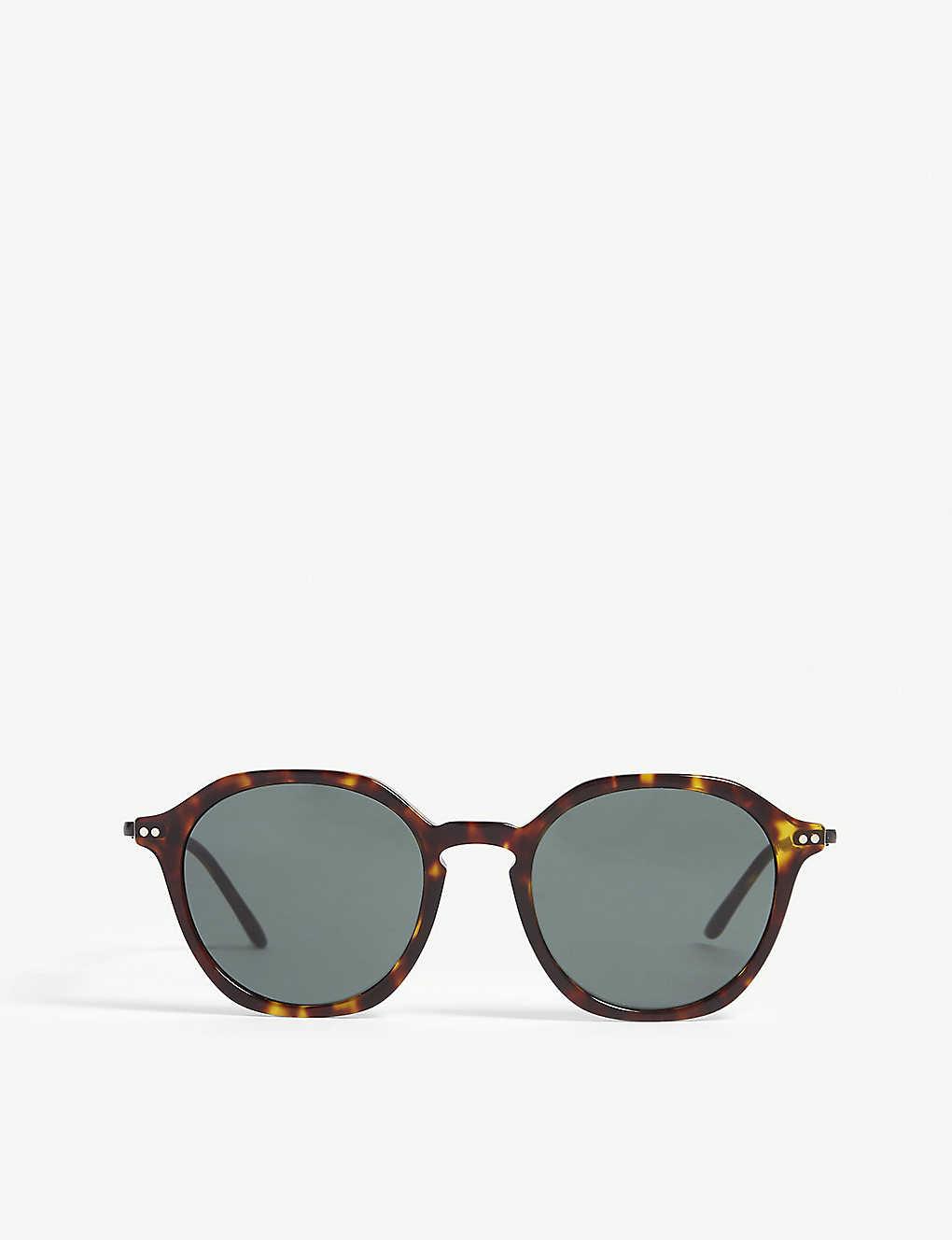 18c0490b8ede GIORGIO ARMANI - Havana Ar8109 phantos-frame sunglasses | Selfridges.com
