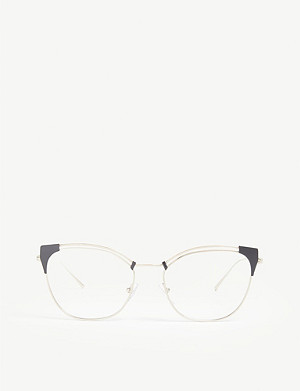 PRADA PR62U cat-eye-frame glasses