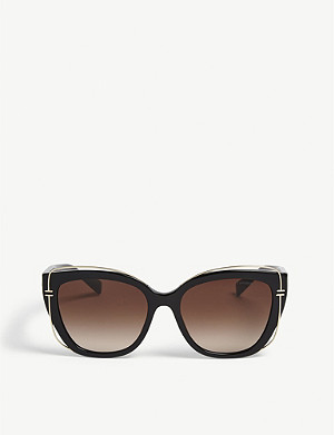 TIFFANY & CO TF4148 cat-eye-frame sunglasses