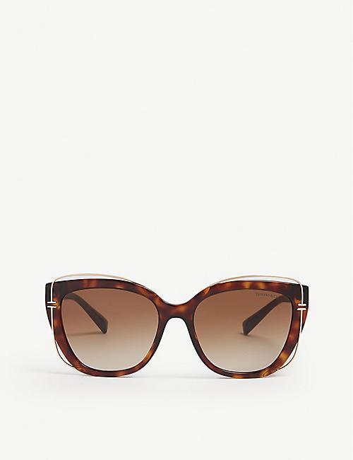 e76fbe0d320 TIFFANY   CO Tf4148 cat eye havana sunglasses