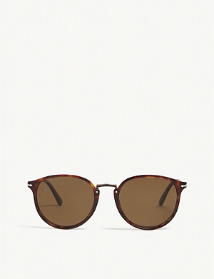 PERSOL Po3210 Typewriter Edition round-frame sunglasses