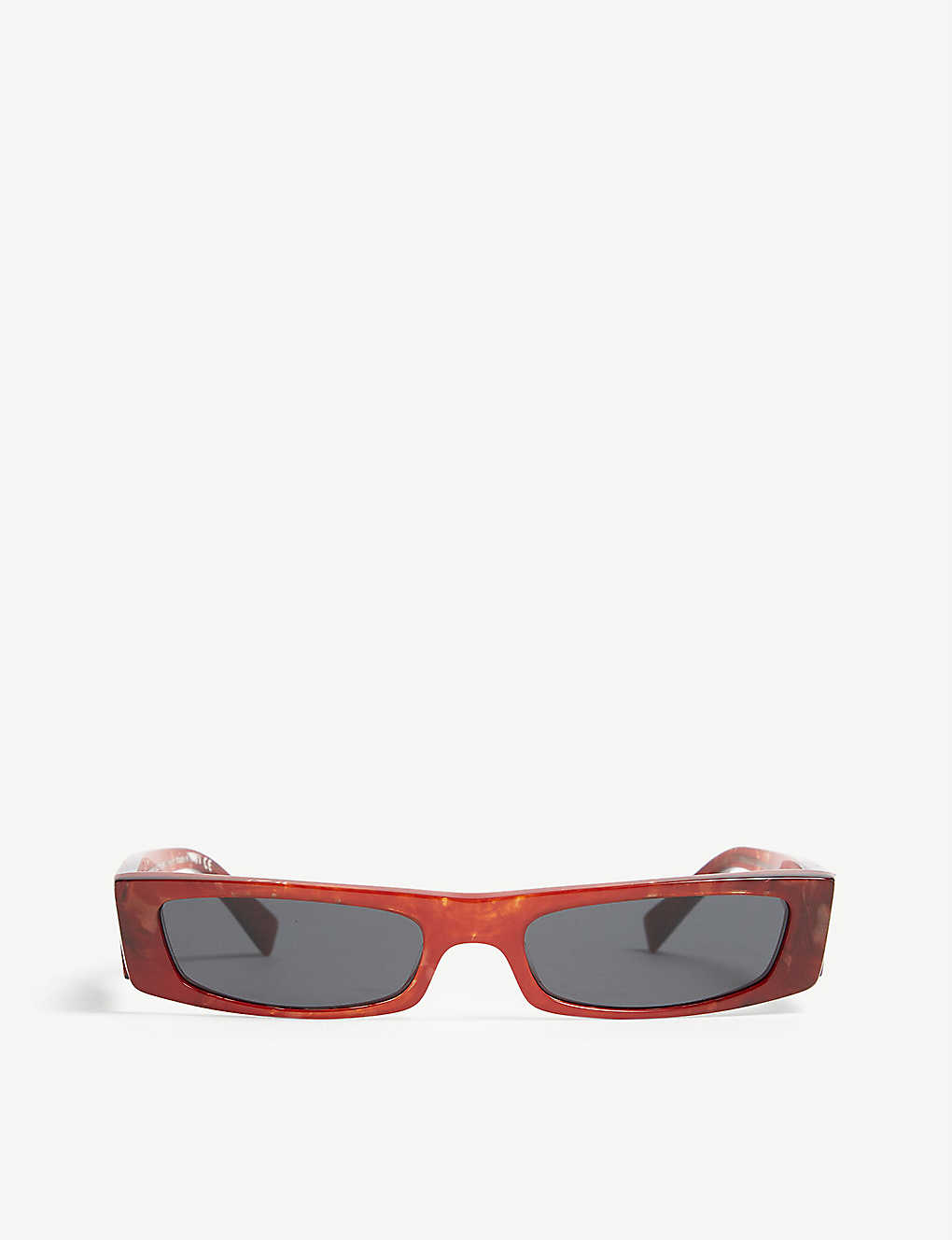 ALAIN MIKLI: Alain Mikli x Alexandre Vauthier A05039 Edwidge rectangle frame sunglasses