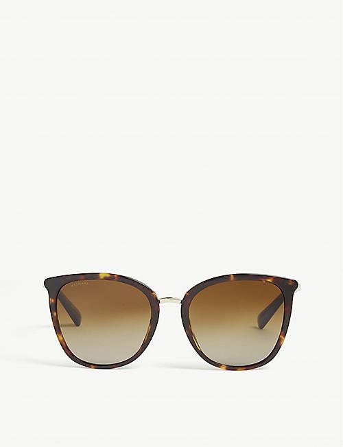 740ca704e161 BVLGARI Havana Bv8205kb square-frame sunglasses