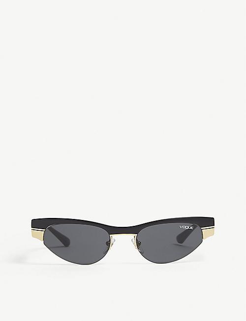 b99e3ff9f7 VOGUE Gigi Hadid 0vo4105s cat-eye sunglasses