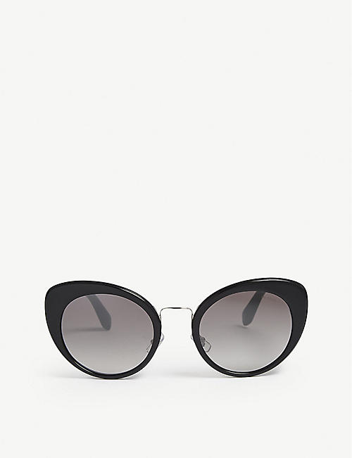 26fec1839fea MIU MIU SMU06T cat-eye-frame sunglasses