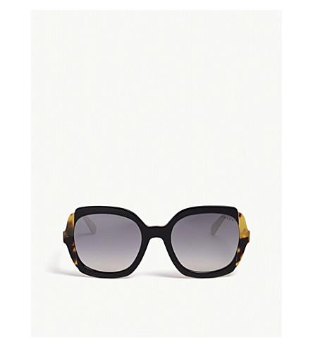 768c145b48d7 PRADA Square sunglasses (Black