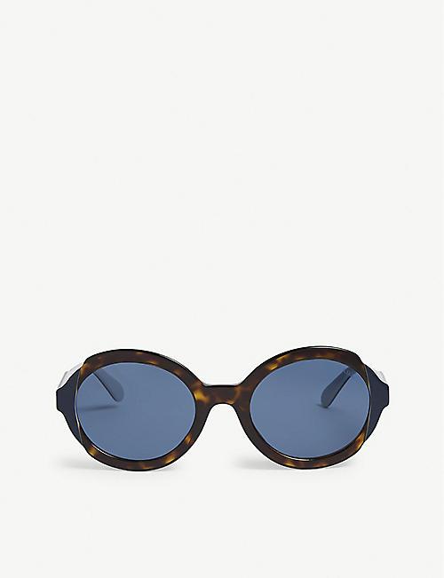 aed43932d2e PRADA 0Pr 17Us round sunglasses