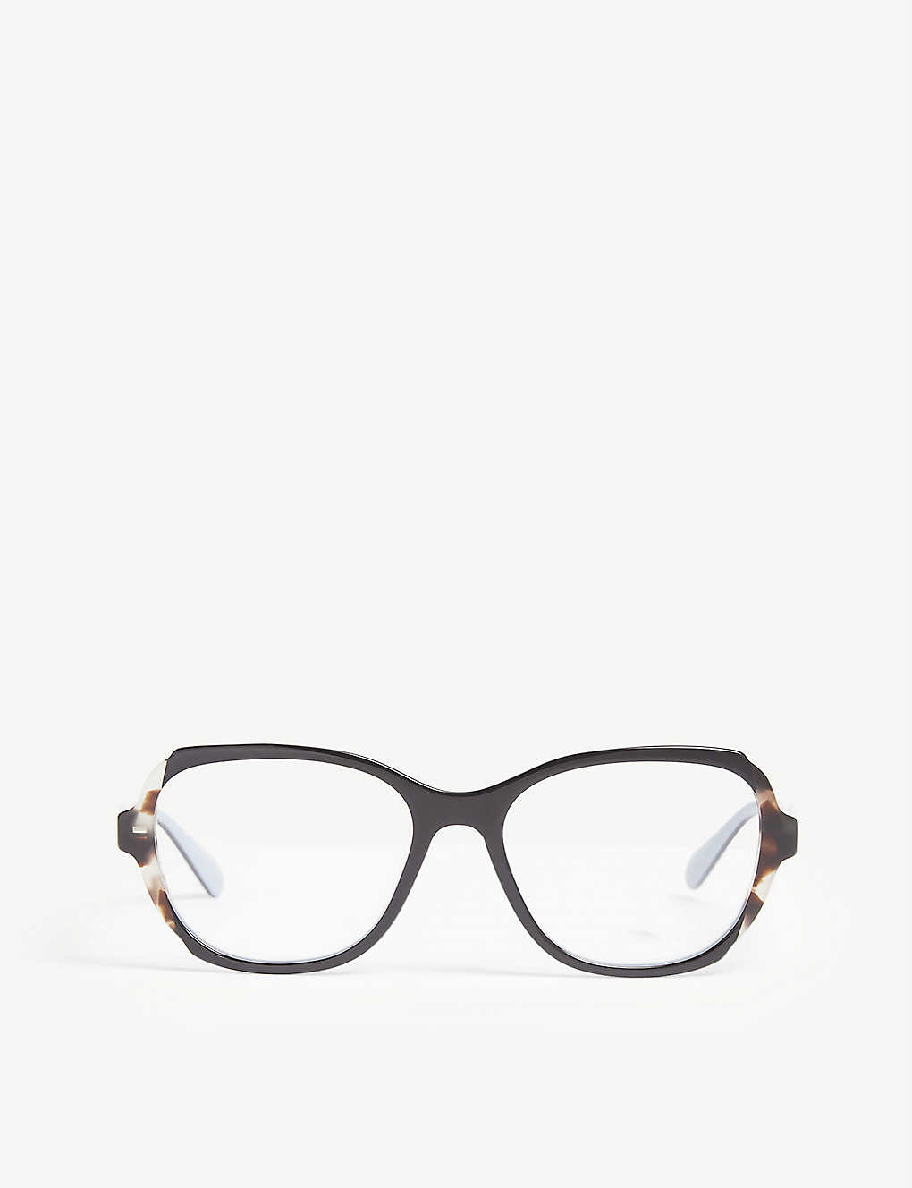 6bb582830842 PRADA - Pr03vv square-frame glasses | Selfridges.com