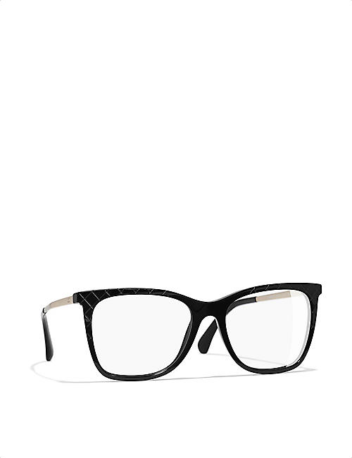 CHANEL Square glasses