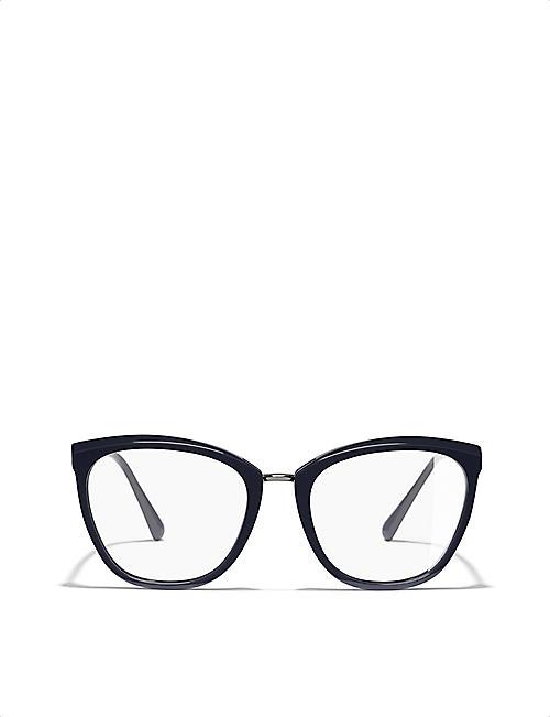 e1954a28ac49 CHANEL 0ch3381 cat-eye glasses