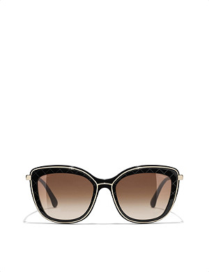 CHANEL Rectangular sunglasses