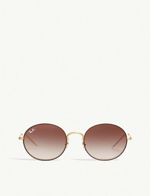 RAY-BAN RB3594 round-frame sunglasses