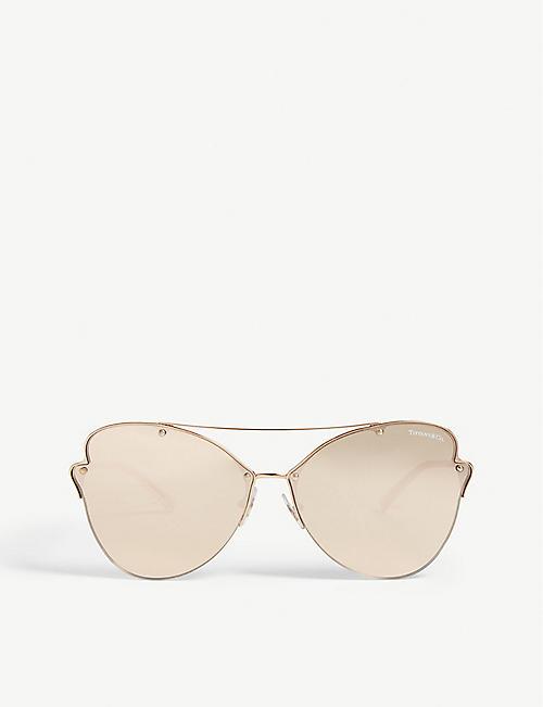 7e46f14660 TIFFANY   CO Tf3063 butterfly-frame sunglasses