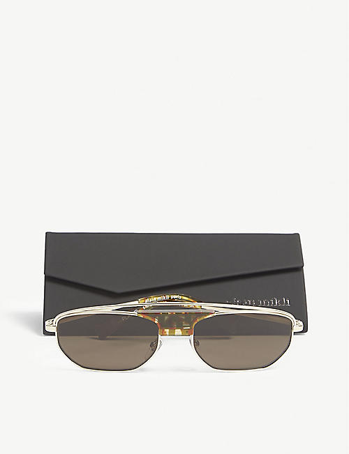 ALAIN MIKLI A04014 rectangle-frame sunglasses