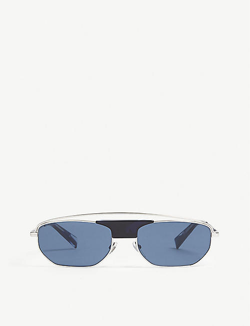 ALAIN MIKLI: A04014 rectangle-frame sunglasses