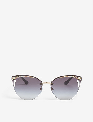 BVLGARI Bv6110 cat-eye sunglasses